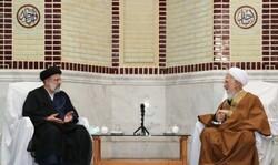 ایران کے نئے صدر آیت اللہ رئيسی کی آیت اللہ العظمی جوادی آملی سے ملاقات