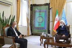 وزیر صمت با حجتالاسلام اژهای دیدار کرد