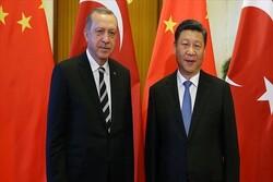 گفتگوی تلفنی روسای جمهور چین و ترکیه