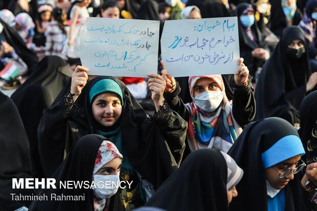 جشن ازدواج دختران انقلاب در میدان امام حسین(ع)