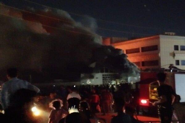 عراق کے صوبہ ذیقار میں اسپتال میں آگ لگنے سے 58 افراد جاں بحق