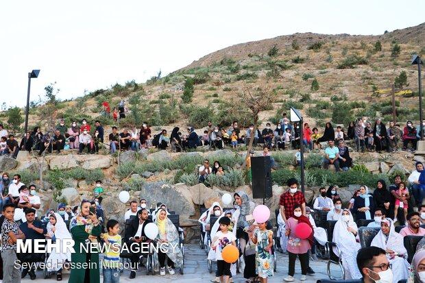 افتتاح قرية تراثية في عمق الجبال لمدينة مشهد المقدسة