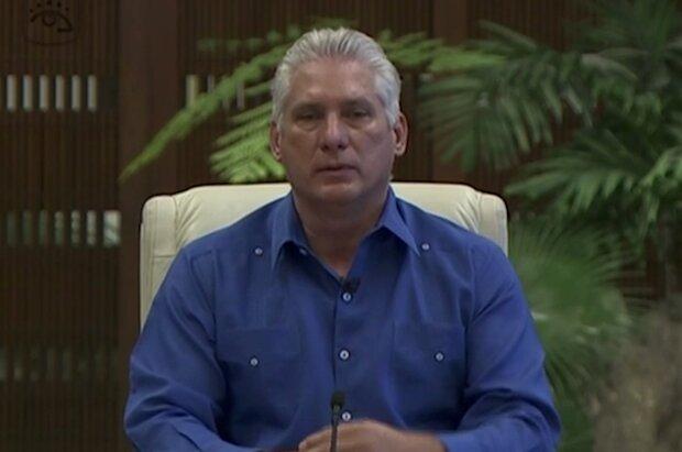 Díaz-Canel slams US for 'suffocating' Cuba's economy