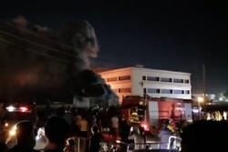 شمار جان باختگان آتش سوزی در بیمارستان ناصریه عراق به ۹۲ تن رسید