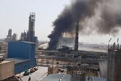 آتشسوزی در پتروشیمی امیرکبیر