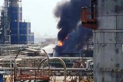 آتشسوزی پتروشیمی امیرکبیر ماهشهر کنترل شد