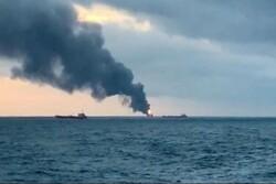 Iraqi ship catches fire in Persian Gulf, all 9 crew dead