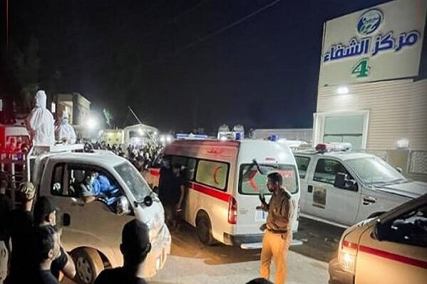 Number of Iraqi hospital fire victims rise to 124