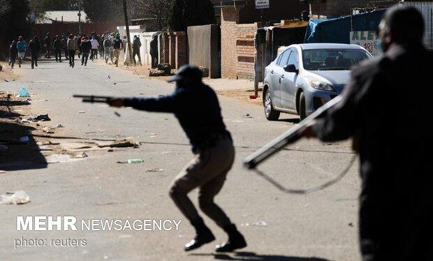 Güney Afrika'daki protestolarda can kaybı 72'ye yükseldi