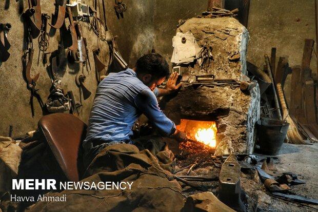 İran'da geneleksel demircilik sanatı