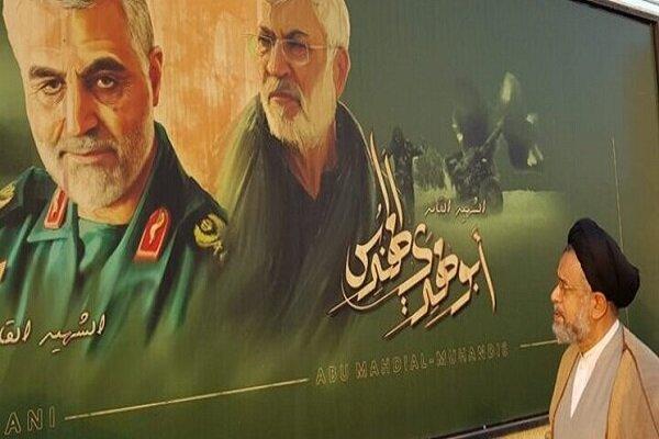 Intelligence min. pays tribute to Lt. Gen. Soleimani in Iraq