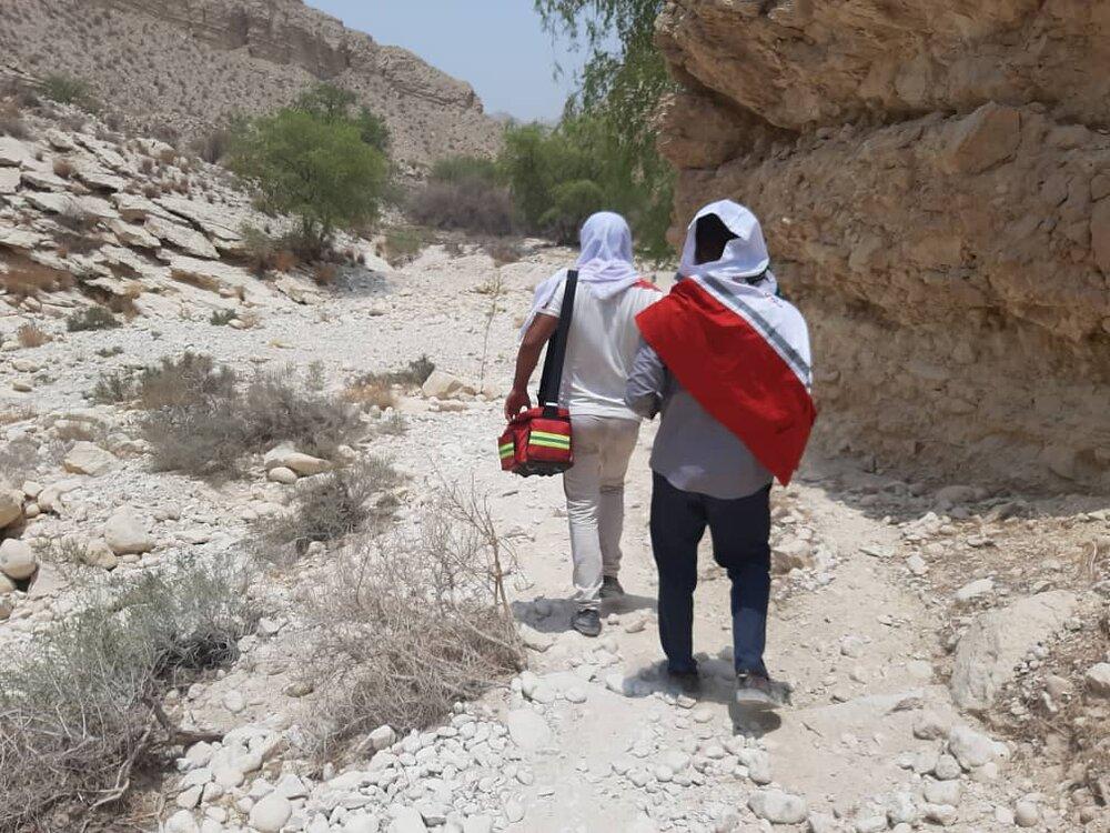 مفقود شدگان در کوه های عسلویه نجات یافتند