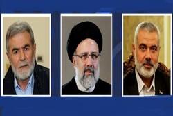 هنية ونخالة يهنئ الرئيس الإيراني إبراهيم رئيسي بانتخابه رئيسا للبلاد