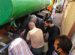 اعزام دو دستگاه تریلر آبرسان از کرج به سوسنگرد