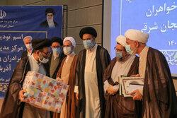 مراسم تکریم و معارفه رئیس حوزه علمیه استان آذربایجان شرقی