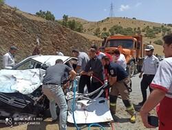 جان باختن سه شهروند کردستانی در تصادف رانندگی مسیر مریوان