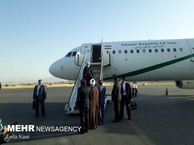 ایرانی عدلیہ کے سربراہ صوبہ ایلام پہنچ گئے