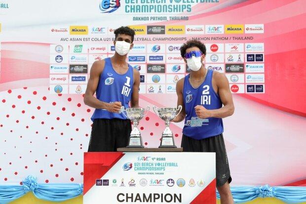 Iran crowned Asian U21 Beach Volleyball champions