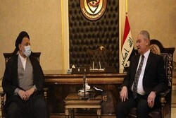 Intelligence min. meets Iraq's National Security Agency chief