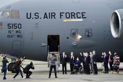فرود هواپیمای نظامی آمریکا در تایوان/ چین هشدار جدی داد