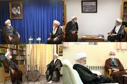 ایرانی عدلیہ کے نئے سربراہ کی قم میں مراجع عظآم سے ملاقات