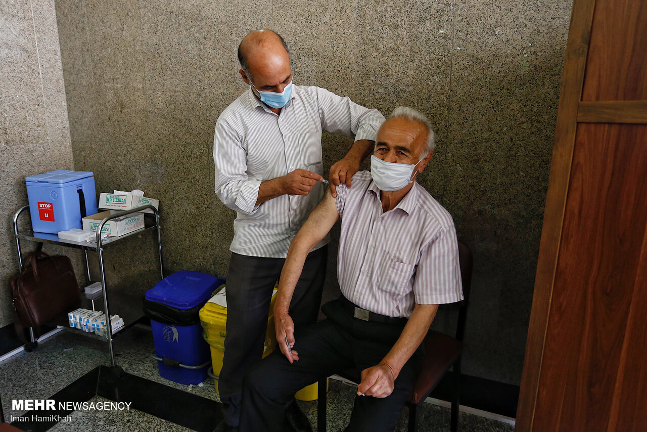 آمار تفکیکی واکسیناسیون کرونا در ایران