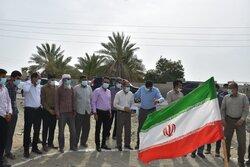 بازدید اعضای کمیسیون اصل نود مجلس شورای اسلامی از شرق هرمزگان