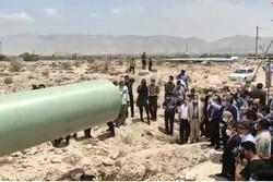 آغاز عملیات لوله گذاری پروژه انتقال آب دریا به جنوب فارس