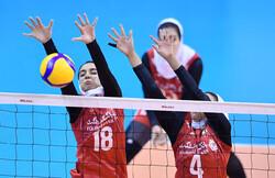 Iran women volleyball