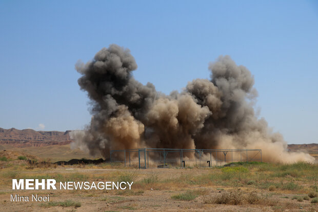 Field military exercise of Commando Brigade 25 in Tabriz