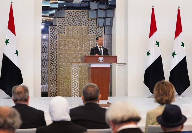 Assad sowrn-in as Syria president for 4th term