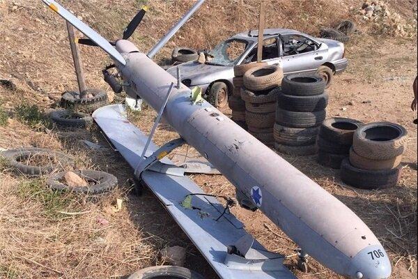 """سقوط طائرة مسيرة """"إسرائيلية"""" داخل الأراضي اللبنانية"""