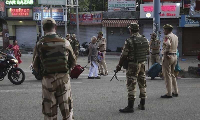 بھارتی فوج نے کشمیر میں سرچ آپریشن کے دوران 2 افراد کو ہلاک کردیا