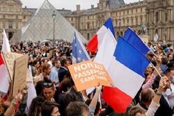 Fransa'da aşı zorunluluğu karşıtı gösteri: 114 bin kişi katıldı
