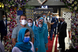 Seeing-off ceremony of Iranian Olympic athletes