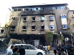 Fire breaks out in hotel in Karbala, killing one child
