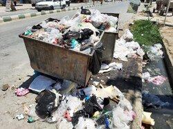 داستان تکراری انباشت زباله در ایذه