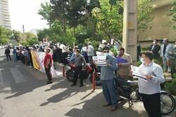 کارکنان دانشگاهها مقابل وزارت علوم تجمع کردند