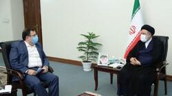 دیدار فیروزآبادی و رستمی با رئیسجمهور منتخب