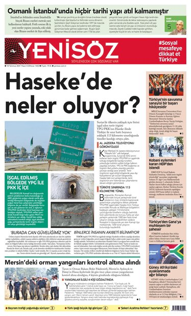 gazete 18 Temmuz