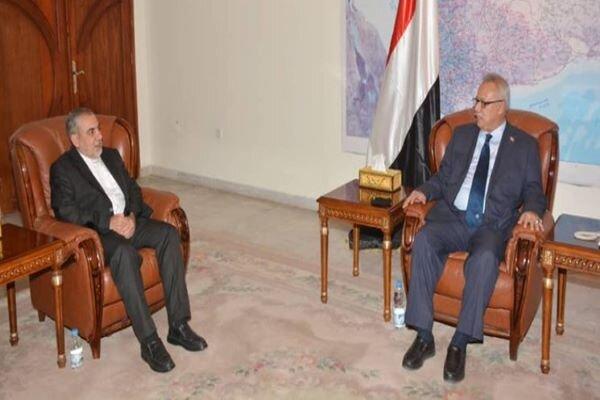 Iran standing by Yemeni nation until establishment of peace
