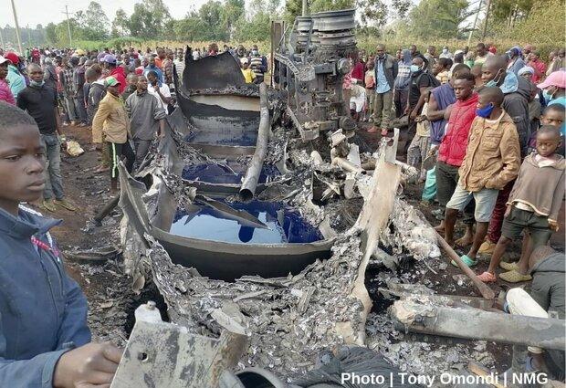 Fuel truck blast kills 13 in Kenya