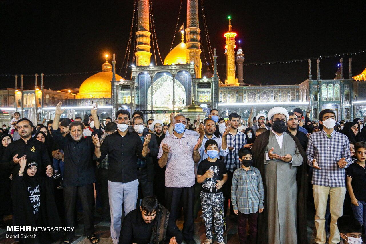Траур по Имаму Мухаммаду Бакиру (ас) прошёл в Священном городе Кум ФОТО