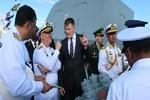 Iran Navy commander arrives in St. Petersburg (+Video)