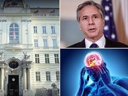 امریکی سفارتکار کئی ممالک میں دماغی بیماری میں مبتلا ہوگئے