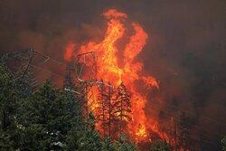 تداوم آتشسوزی گسترده و مهیب در امریکا