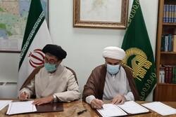 امضای تفاهم نامه فرهنگی بین حرم رضوی و عتبه حسینی