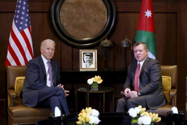 بايدن يستضيف العاهل الأردني في البيت الأبيض