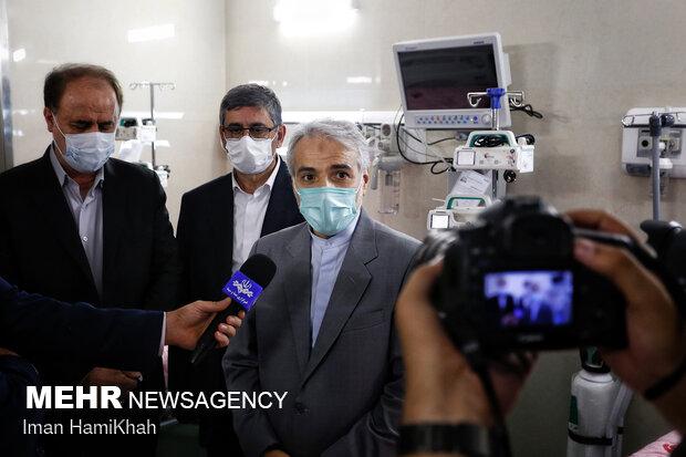 1st phase of Comprehensive Cancer Center opened in Hamedan