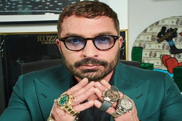 Lorenzo Ruzza; collector and retailer of luxury watches